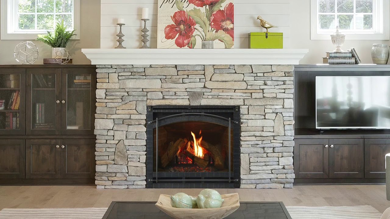 Heat Glo 6000 8000 Series Gas Fireplaces Youtube