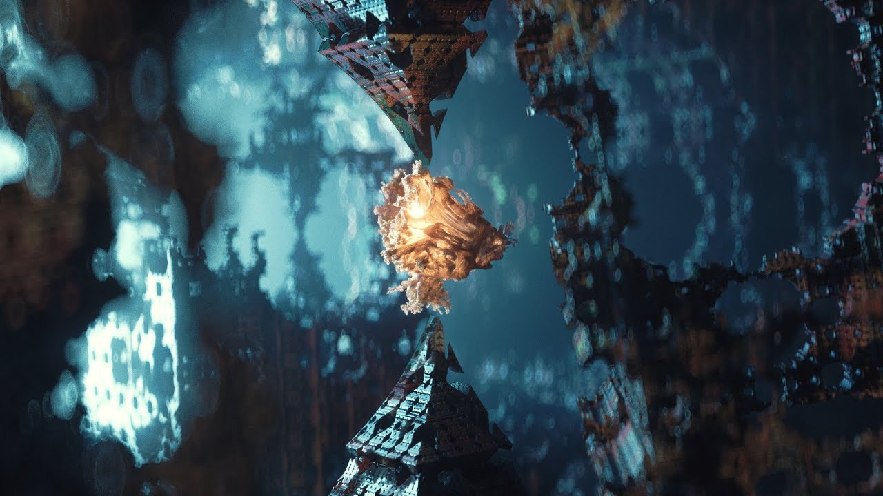 Cinema 4D Tutorial - Abstract Fractal Animations Using Vectron in Octane  2018