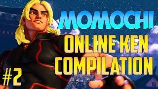 Street Fighter V / 5 - Momochi Online Ken Compilation #2【1080p60 High Level Matches】