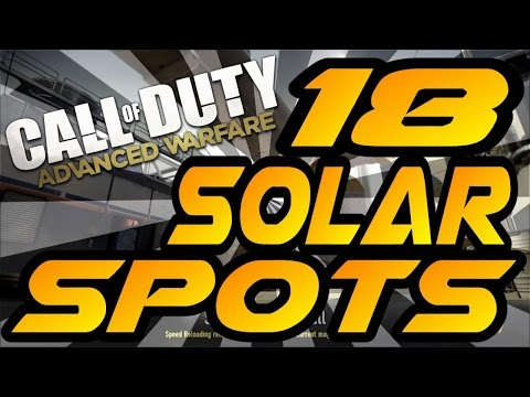 18 Solar Spots & Glitches! - Advanced Warfare (Jumps, Hiding & Infected Spots After Patch)