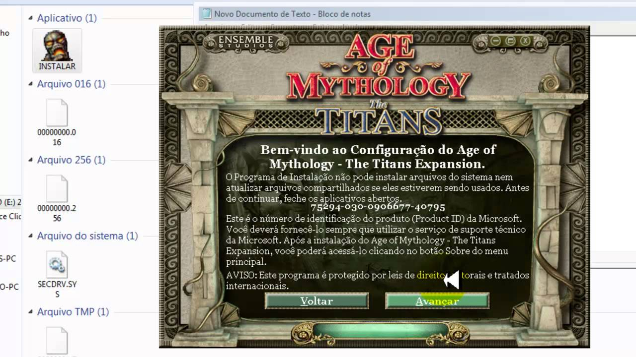 age of mythology the titans baixaki
