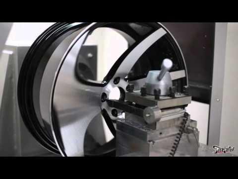 видео: Алмазная проточка диска на станке с ЧПУ.