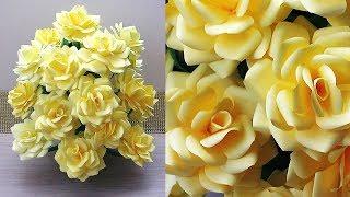 /DIY/NEW DESIGN PAPER FLOWER GULDASTA. WASTE PLASTIC BOTTLE FLOWER POT. FLOWER VASE. 20l9 8