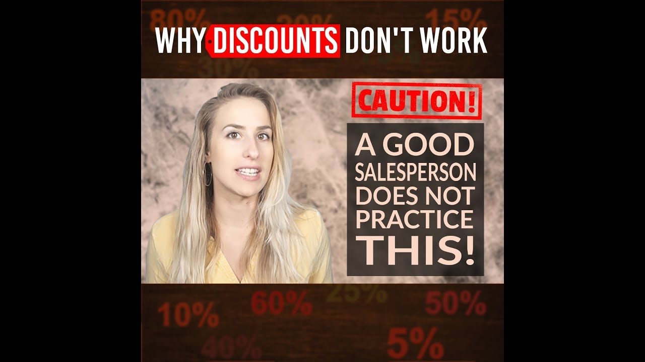 Why Discounts Don't Work