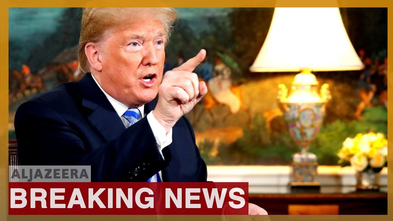 Trump says 'Iran made a very big mistake' after drone downing