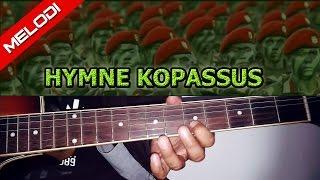 vuclip Melodi Gitar + Lirik Lagu HYMNE KOPASSUS