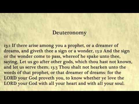 Deuteronomy - King James Bible, Old Testament (Audio Book)