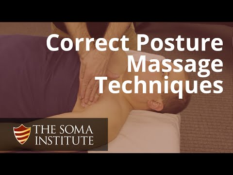 Massage Techniques to Correct Postural Deviations  Protracted Scapulae