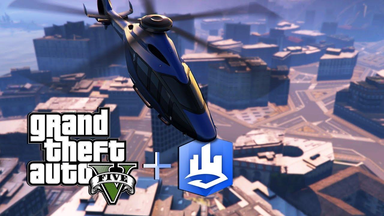 Grand Theft Auto city : Esri CityEngine, Видео, Смотреть онлайн