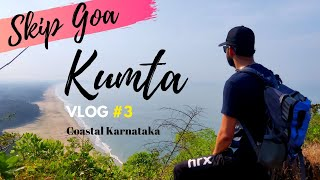 Kumta - Hidden Gem of Coastal Karnataka | Kumta Beach Trekking | Mirjan Fort | Nirvana Beach VLOG#3