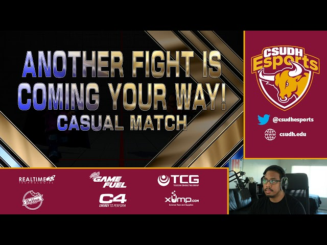 Street Fighter V with TheMightyDrew - CSUDH Esports (5/17/2020)