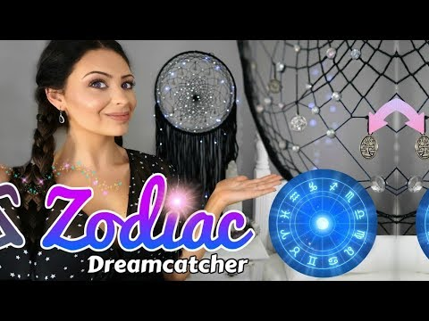 DIY Zodiac Astrology Dreamcatcher - Advanced Web Tutorial