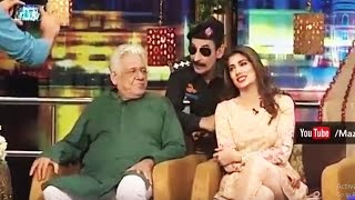 Excellent performance of Policeman Afzal in Mazaaq Raat