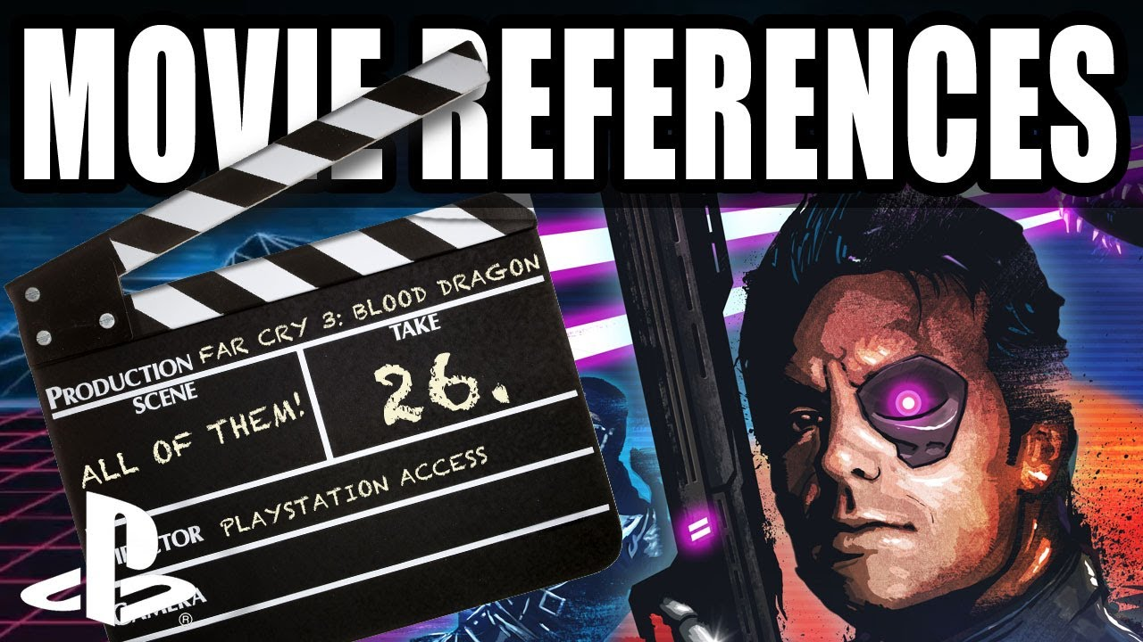 Far Cry 3 Blood Dragon Movie Easter Eggs And References Youtube