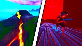 New Fortnite Season 8 Glitch Wallbreach Inside Of The volcano ( Fortnite Glitches Season 8 )