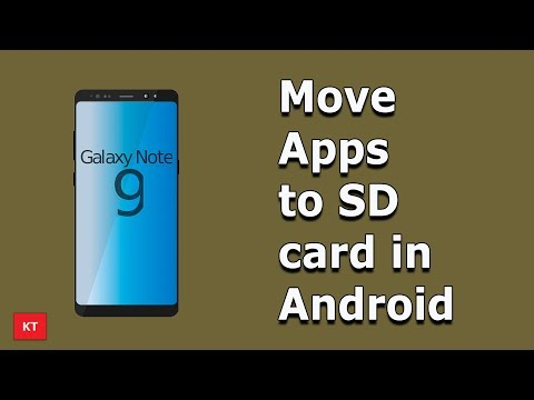 How To Move Apps To SD Card In Android Without Root | Free Up Space In Android