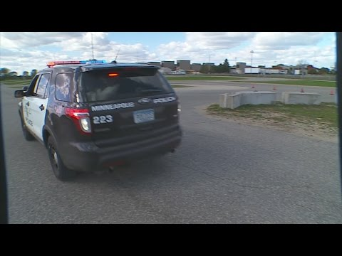 WCCO Goes Behind The Wheel For Police Pursuit Training