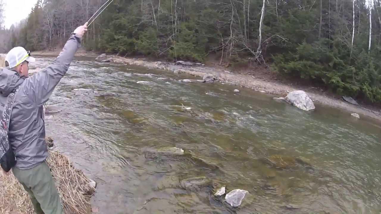 Lake champlain steelhead youtube for Lake champlain fishing report