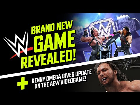 new-wwe-game-revealed,-teases-cm-punk!-plus-aew-game-update-from-kenny-omega!