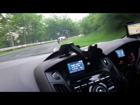 Vectra 2.0 Turbo Burnout In Germany (Nurburg) 04/06/16