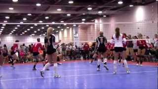 2012 Northern Lights 17-1 USAV Volleyball Nationals Highlights [HD]