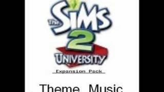 The Sims 2 University Neighbourhood Theme