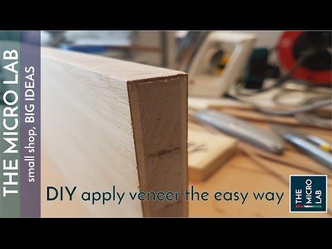 Apply veneer - the  easy way