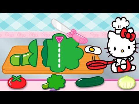Masak Masakan Hello Kitty Lunch Box Permainan Game Anak Youtube