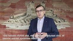Kaupunginjohtaja Timo Kenakkalan viesti 9.4.2020