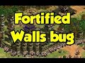 Fortified Walls bug