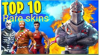 top 5 rarest skins in fortnite!!! Recon expert,skulltrooper,renegade raider
