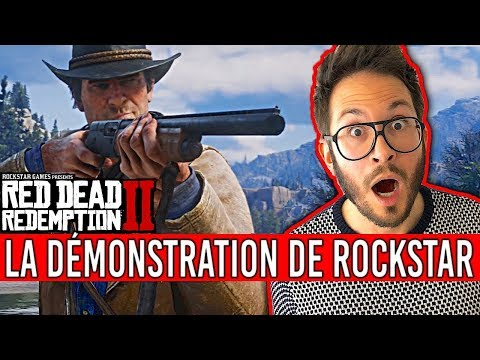 Gameplay Red Dead Redemption 2, la CLAQUE DE FOU !!! ANALYSE thumbnail