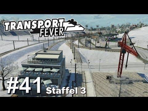 TRANSPORT FEVER S3/#41: Streckenbau durch 4 Städte [Let's Play][Gameplay][German][Deutsch]