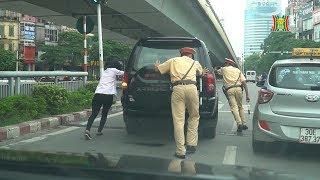 Hình ảnh đẹp ngã tư đường phố | CSGT giúp người đi đường khắc phục sự cố hỏng xe | Camera 141