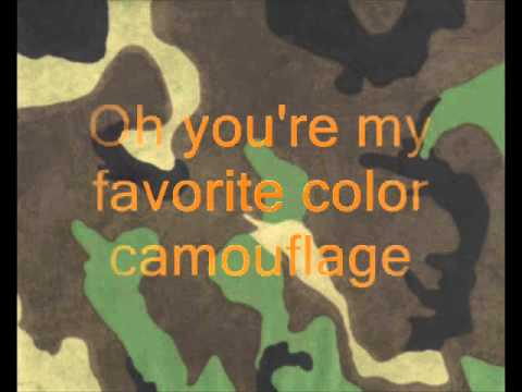Brad Paisley - Camouflage with Lyrics
