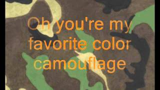 Brad Paisley - Camouflage with Lyrics.wmv