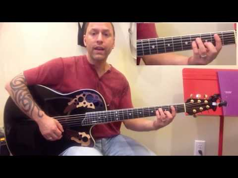 Steve Stine Guitar Lesson - How to play Radioactive by Imagine Dragons