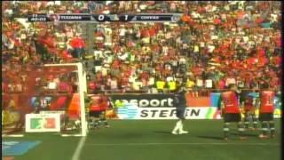 GUADALAJARA Chivas vs Xolos de TijuaNA jornada 3 1-0 torneo apertura 2011