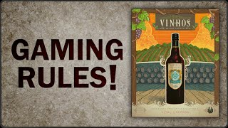 Gaming Rules! - Vinhos How to Play