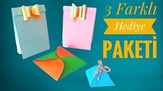 Yılbaşı Hediyesi İçin 3 Farklı Hediye Paketi Yapımı/Kendin Yap/DIY/ 🎁