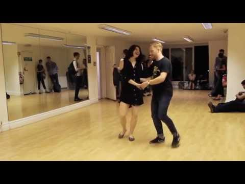 Johnny's Drop! | Lindy Hop class with Tony & Sharon | 5 September 2016