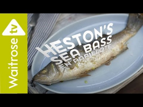 Heston Blumenthal's Sea Bass En Papillote | Waitrose