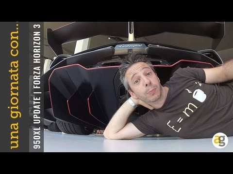 EXP Una giornata con Lumia 950xl Lambo Aventador e Forza Horizon 3