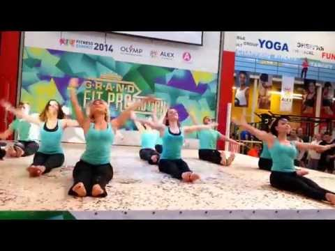 Show Pilates Academy from A.F.Studies RUSSIA@GRAND FIT PROMOTION Moscow 2014