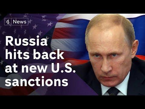 Novichok attack: Russia denounces 'draconian' new US sanctions
