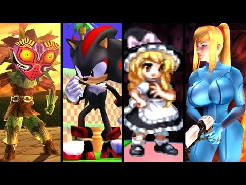 Super Smash Bros TOP 10 CUSTOM CHARACTERS (Mods)