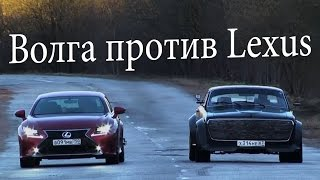 ГАЗ 24 Волга на шасси BMW 735 E32 ЧУДОТЕХНИКИ 24 смотреть
