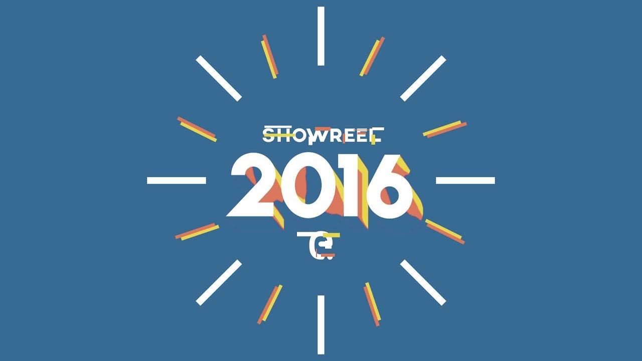 2d motion graphics showreel 2016
