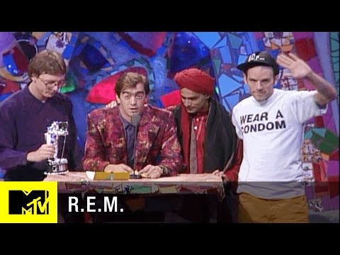 R.E.M. Wins Video of the Year at the 1991 VMAs | MTV Classic