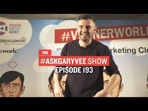 Vaynerworld in London, Teenage Entrepreneurs & Working Remotely: #AskGaryVee Episode 193
